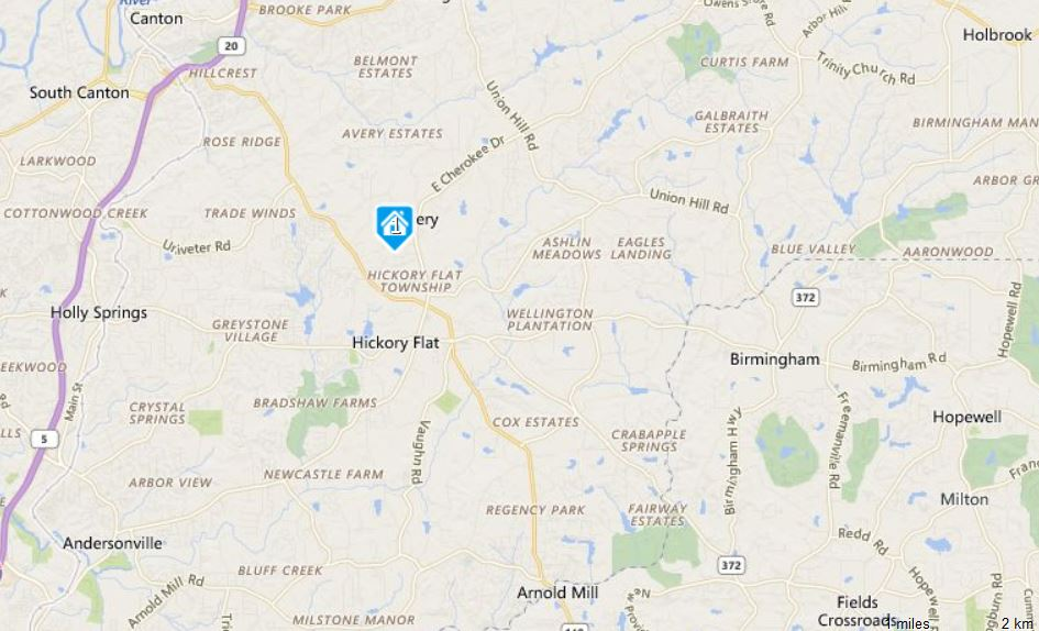 canton-ga-map-location-east-hickory-springs-neighborhood